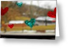 Window Stickers Greeting Card