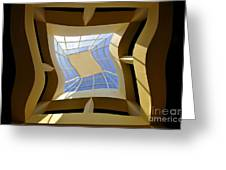 Window To Another Dimension Greeting Card