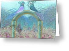 Window To Spring 4 Greeting Card