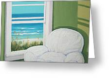 Window To The Sea No. 2 Greeting Card