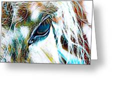 Window To The Soul 2 Greeting Card