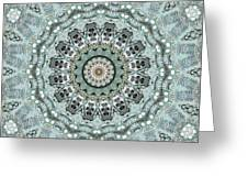 Window To The World Mandala Greeting Card