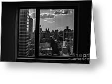 Window View Greeting Card