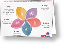 Windows Live Mail Contacts Converter Greeting Card