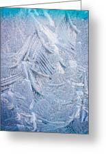 Iced Windshield  Greeting Card