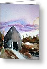 Windsong Cabin Greeting Card