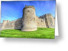 Windsor Castle Battlements  Greeting Card