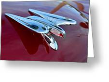 Windsor Deluxe Hood Ornament Greeting Card