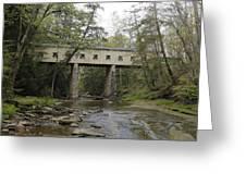 Windsor Mills Covered Bridge 3 Greeting Card