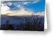 Windstorm Greeting Card
