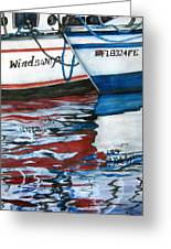 Windswept Reflections Sold Greeting Card