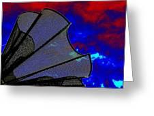 Windy 3 Greeting Card