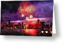 Windy City Greeting Card