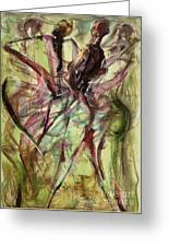 Windy Day Greeting Card by Ikahl Beckford