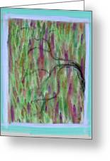 Windy Day Greeting Card
