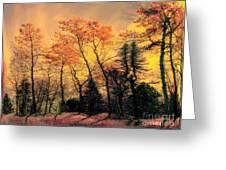 Windy  Greeting Card by Elfriede Fulda
