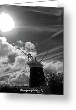 Windy Mill Greeting Card