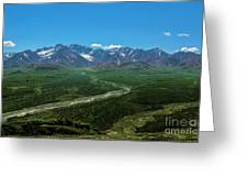 Windy River Greeting Card