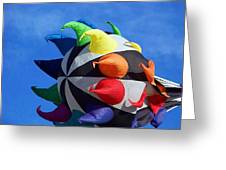 Windy Toy Greeting Card