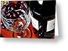 Wine And Dine 1 Greeting Card