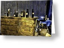 Wine Bazaar Greeting Card