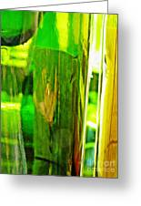 Wine Bottles 21 Greeting Card