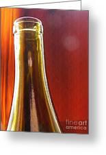 Wine Bottles 4 Greeting Card
