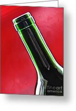 Wine Bottles 8 Greeting Card by Sarah Loft