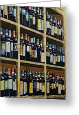 Wine Closet Greeting Card
