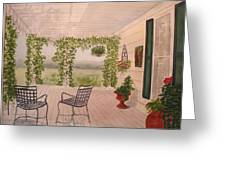 Wine Country Gardens Greeting Card