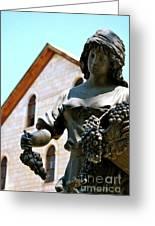 Wine Goddess Greeting Card