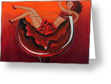 Wine Me Up Greeting Card