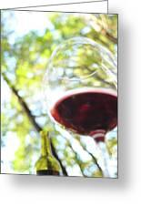 Wine On The Farm Greeting Card
