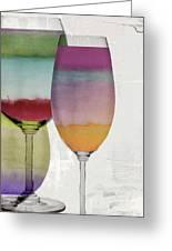Wine Prism Greeting Card