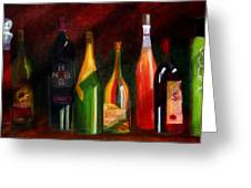 Colors Of Wine Greeting Card