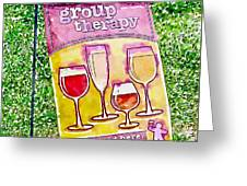 Wine Sign Greeting Card