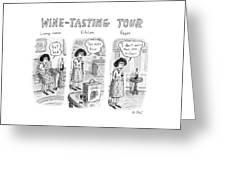 Wine-tasting Tour Greeting Card