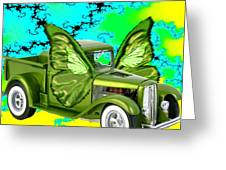 Wing Truck Greeting Card