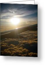 Winged Sun Greeting Card