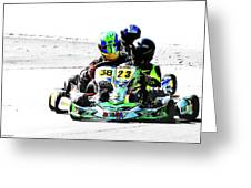 Wingham Go Karts 09 Greeting Card