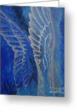 Wings Of Angel Greeting Card