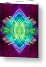 Wings Of Consciousness Greeting Card