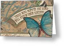Wings Of Hope Greeting Card by Debbie DeWitt