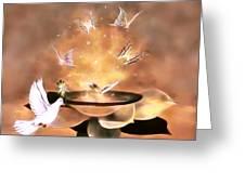 Wings Of Magic Greeting Card