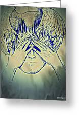 Wings To The Thoughts Greeting Card
