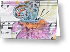 Wings V Greeting Card