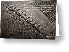 Winning Quote From Vince Lombardi Greeting Card