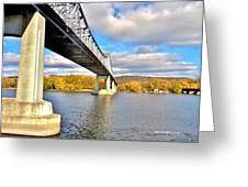 Winona Bridge Greeting Card