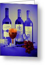 Winsome Wine Greeting Card