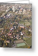 Winston Salem Nc From Above Greeting Card